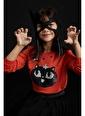 DeFacto Kız Çocuk Balkabağı Payetli Sweatshirt Oranj
